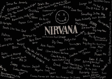 wallpaper tumblr nirvana nirvana logo wallpaper wallpapersafari