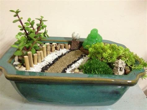 zen garten miniatur diy mini zen garden ideal home