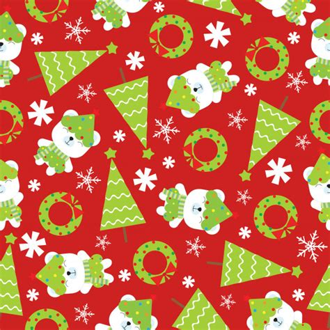 christmas pattern ai christmas seamless pattern with cute polar bear and xmas
