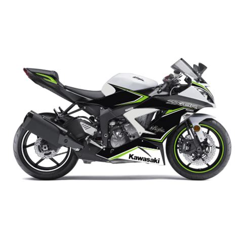 Aufkleber Kawasaki Zx6r by Motorradaufkleber Bikedekore Wheelskinzz Kawasaki