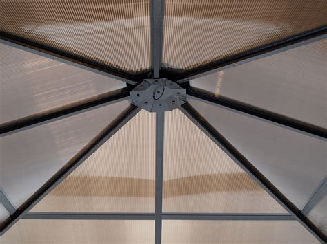 Pavillon Kunststoff by Gartenpavillon Pavillon Metall Pavillion Montreal Alu Dach