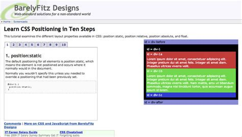 tutorial on css positioning html5 css positioning tutorial