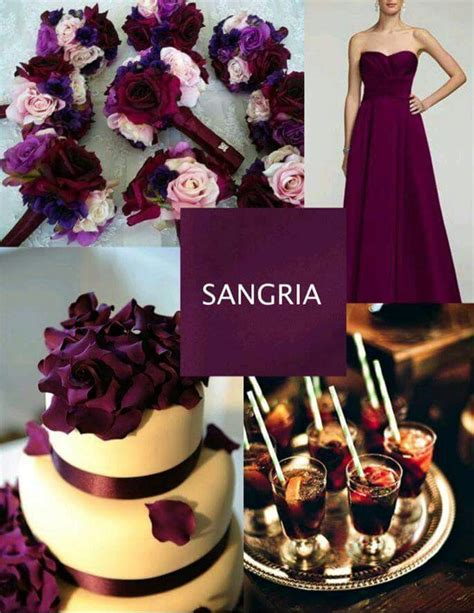 Sangria Colored Wedding Decorations by Best 25 Sangria Wedding Colors Ideas On
