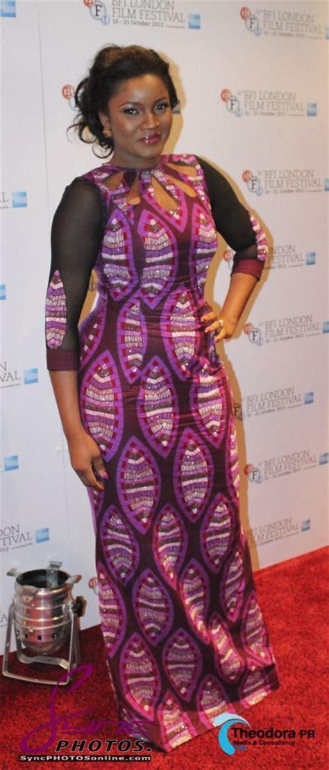 omotla nigerian styles with lace dresses omotola jalade in her wedding omotola jalade aminafilm2