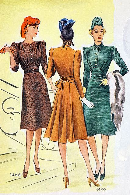 fashion for mid 30 world war 2 the house of mirelle cc41 utility scheme and
