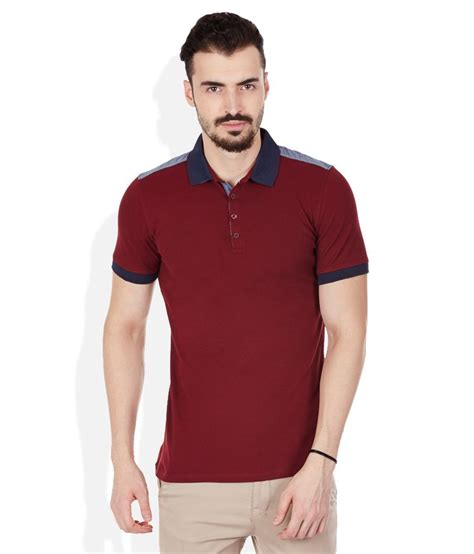Hoodie Polos Maroon celio maroon polo t shirts buy celio maroon polo t shirts at low price snapdeal