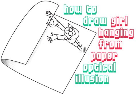 How To Make Illusions On Paper - folded paper archives how to draw step by step drawing