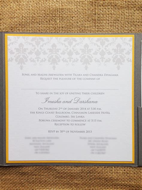 wedding invitation sinhala wording the balance traditional modern wedding invitations
