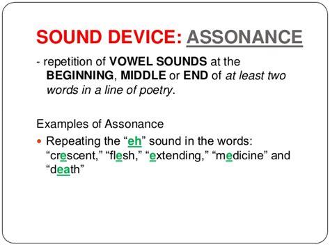 exle of assonance exles assonance driverlayer search engine