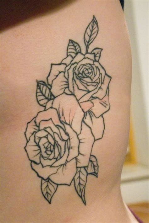 rose rib cage tattoos 30 flowers tattoos on side rib