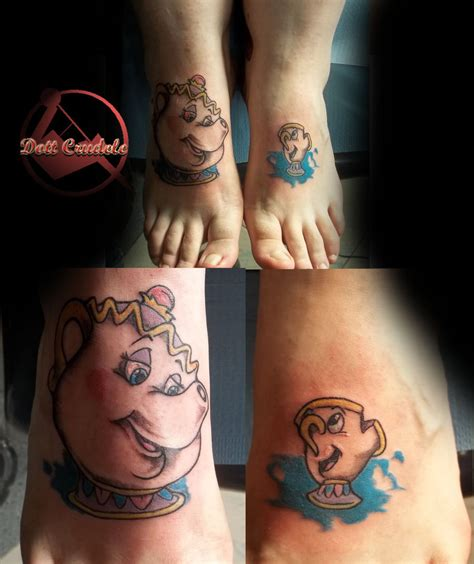 deviant tattoos and the beast by dottcrudele on deviantart