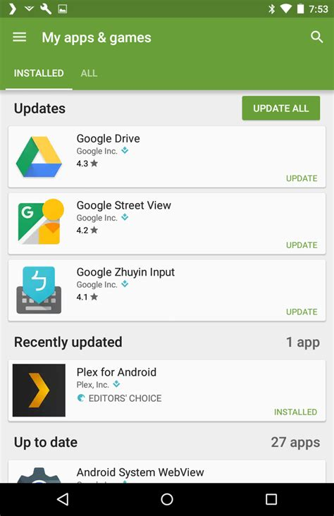 how do you update apps on android how to update all apps in android ask dave