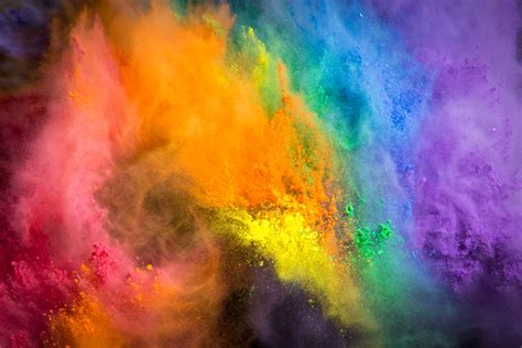 photography cloud of color