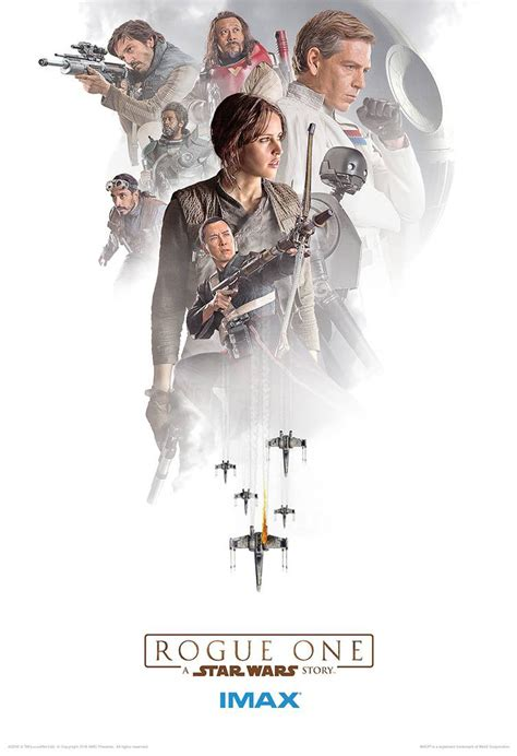 The Greatest Rogue Stories Told rogue one imax posters get the team together scifinow the world s best science fiction