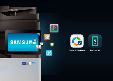 samsung smart app samsung electronics new smart printing apps enhance