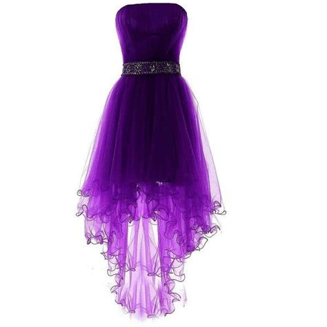 25 best ideas about purple prom dresses on