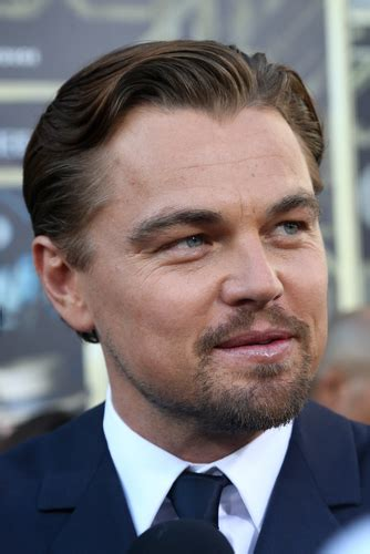 leonardo dicaprio flaunting gatsby inspired hair musical