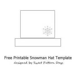 snowman hat template snowman top hat template search results calendar 2015