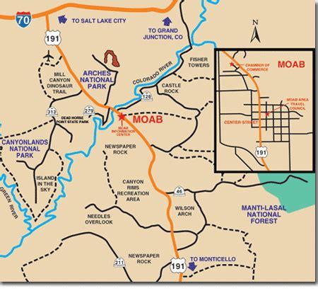 map of moab moab utah map afputra