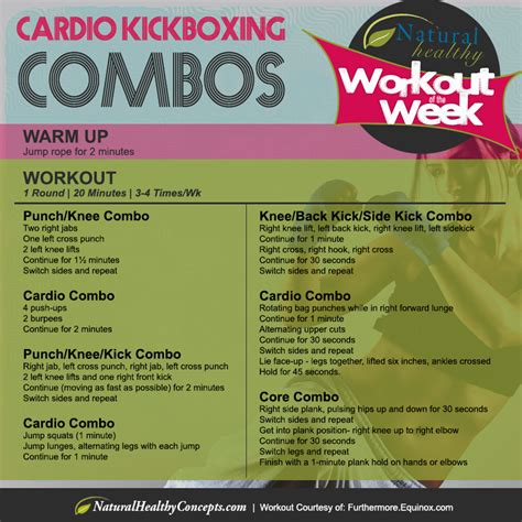 the calorie blasting kickboxing workout healthy concepts