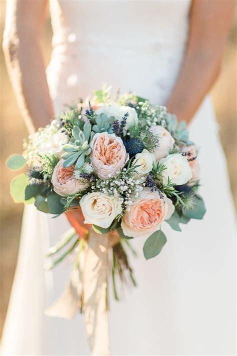 Barn Wedding Massachusetts Wedding Bouquet Ideas Rustic Garden Rose Succulent