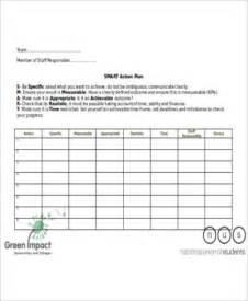 7 sample smart action plan free sample example format