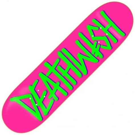 Skateboard Griptape Grizzly Neon Green deathwish skateboards deathwish spray pink green