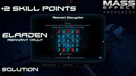 mass effect 2 console mass effect andromeda elaaden 2 skill points remnant
