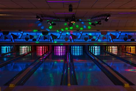 black light bowling near me park place lanes