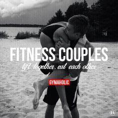 Fit Couple Meme - gym couple on pinterest fitness couples workout couples