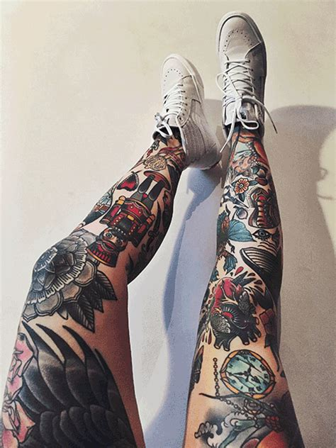tattoo body tumblr full leg tattoo tumblr