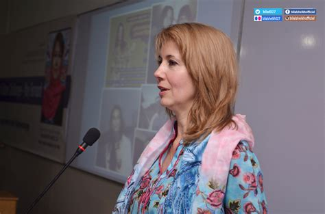A Thousand Of Faith Kristiane Backer kristiane backer delivers special lecture at umt bilal sheikh