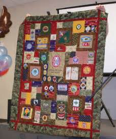 my s eagle scout quilt i made his project was planter