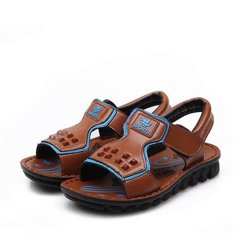 sandals for boys 2015 children sandals boys shoes velcro fretwork