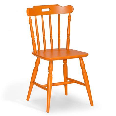 sedie vintage colorate sedie in legno arancione coloniale arredas 236