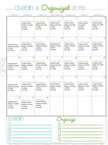 Organizing Schedule Template by 11 Great Schedules To Keep You Organized Organizing Made
