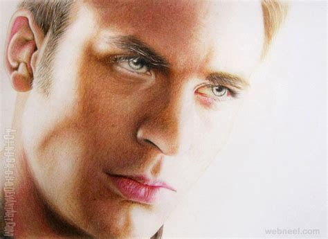 realistic portrait done by chris 20 mind blowing photo realistic color pencil drawings by