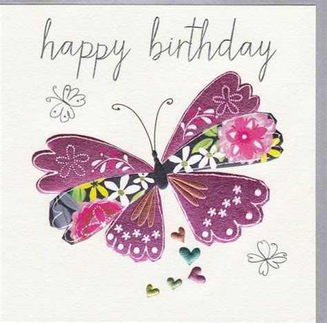 the gallery for gt happy birthday butterfly card