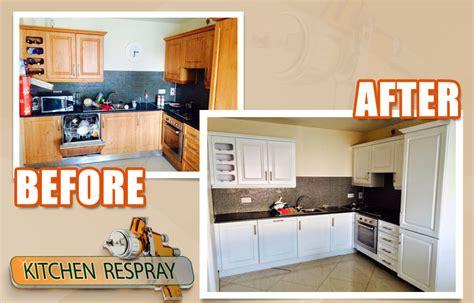 respray kitchen cabinets benefits of kitchen respray resurface my kitchen