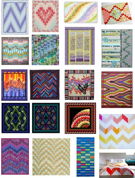 Free Bargello Quilt Patterns by Quilt Inspiration Free Pattern Day Bargello Quilts