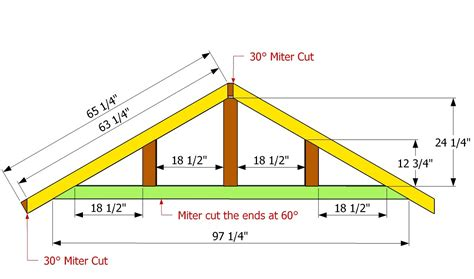shaped roof howtospecialist build step diy plans