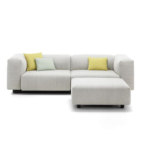 modular couch soft modular 2 seater sofa from vitra in the connox shop