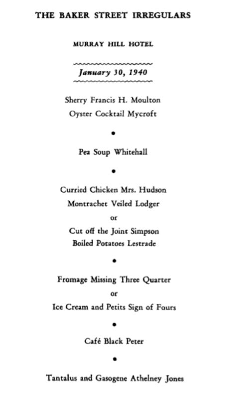 """ENTERTAINMENT AND FANTASY"": THE 1940 DINNER published"