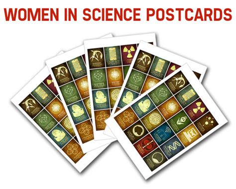 women in science 100 1607749815 women in science postcards 5 blank cards women in stem