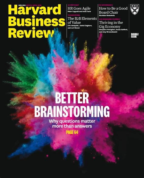 Harvard Mba Prices by Harvard Business Review Magazine Ideas And Advice For