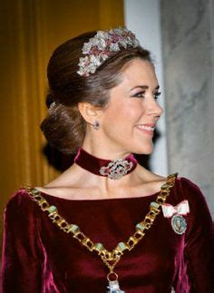 princess mary of denmark new bangs 1000 images about tiaras crowns and jewels worn by