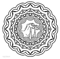 cool mandala coloring pages printable mandala coloring pages for cool2bkids