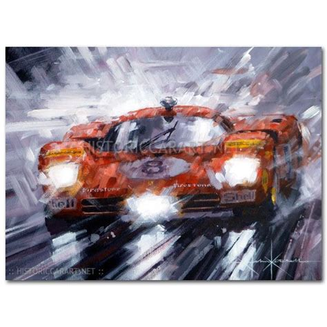 ferrari painting red mist ferrari 512s original painting by john ketchell