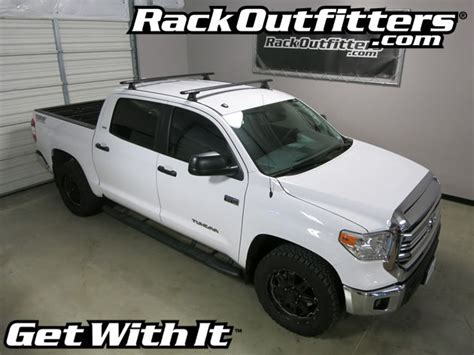 Roof Rack For Toyota Tundra by Rack Outfitters Toyota Tundra Crew Max Rhino Rack Rlt600