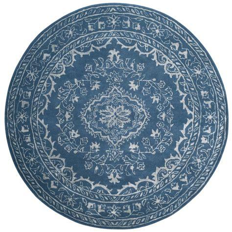 safavieh blue 6 ft x 6 ft area rug glm533b